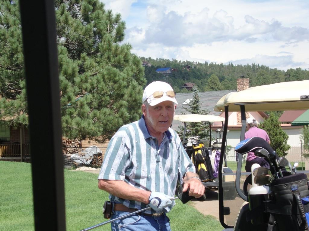Deacon Bob Golfing at Cree